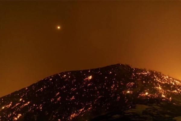 Καλιφόρνια: Ένας νεκρός από το τεράστιο μέτωπο πυρκαγιάς!