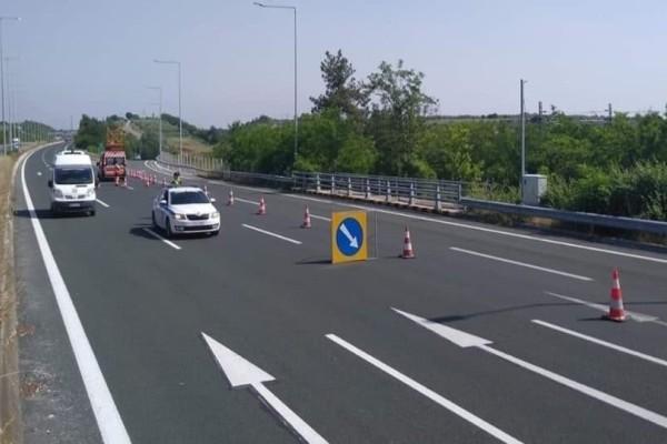 Προσοχή! Νέες κυκλοφοριακές ρυθμίσεις στην Αθηνών - Θεσσαλονίκης!