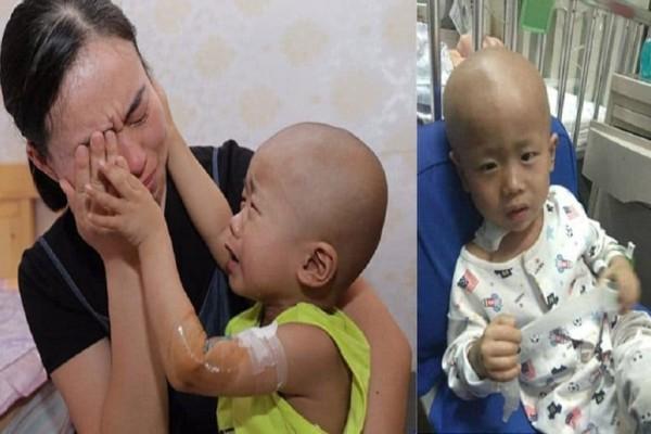 «Μαμά μην κλαις» λέει 3χρονος με καρκίνο επειδή οι γονείς του δεν έχουν λεφτά για τη θεραπεία του!