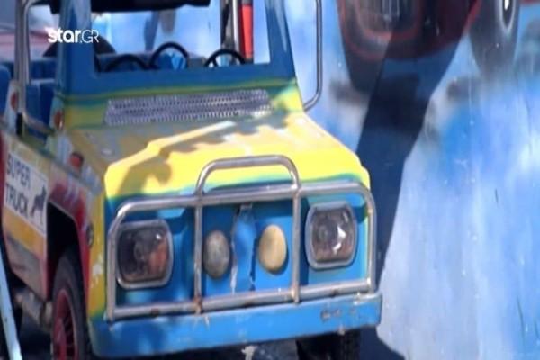 Βίντεο ντοκουμέντο λίγα λεπτά πριν το ατύχημα στο λούνα παρκ της Ναυπάκτου!