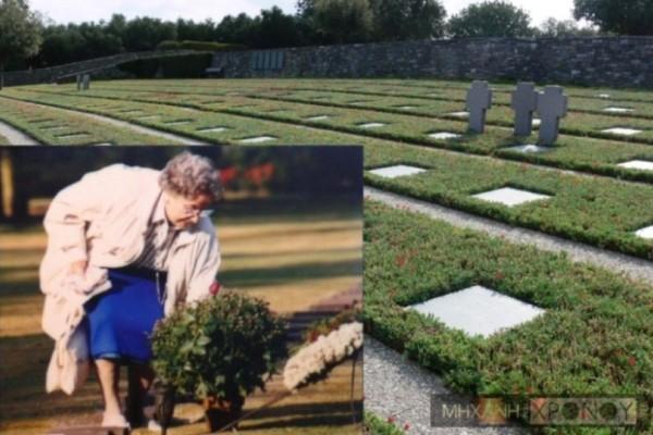 Η κρητικιά που άναβε τα καντήλια στους τάφους των Γερμανών: