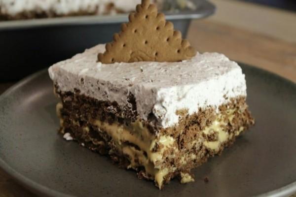 Τέλειο γλυκό ψυγείου με σοκολάτα και μπισκότο!