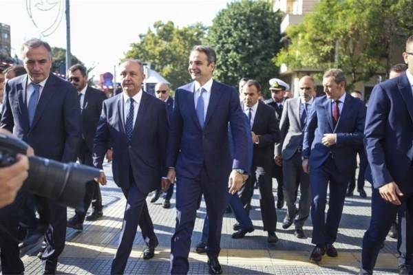 Θερμή υποδοχή είχε στην Θεσσαλονίκη ο πρωθυπουργός Κυριάκος Μητσοτάκης! (Video)