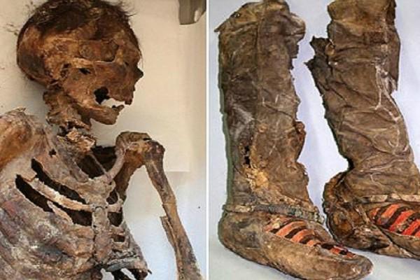 Παγκόσμιος σάλος με τη μούμια, ηλικίας 1.100 ετών που φοράει μπότες adidas. Αυτό όμως που σόκαρε τους αρχαιολόγους είναι…