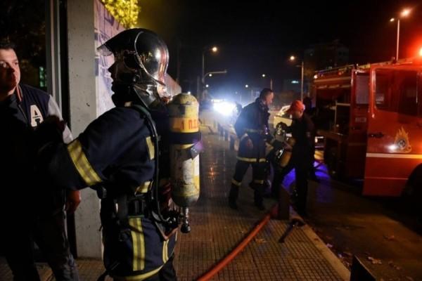 Πυρκαγιά ξέσπασε σε κλαμπ της Πανεπιστημίου! Είχε 200 πελάτες εκείνη την ώρα!
