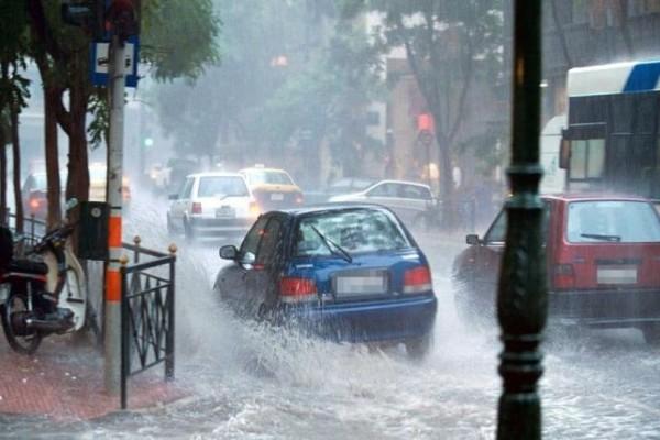 Σφοδρή καταιγίδα «σάρωσε» την Αττική! Η κακοκαιρία «χτύπησε» τη Δυτική Ελλάδα! (photos)