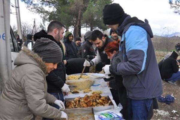 Δείτε το μενού για 13.000 πρόσφυγες στη Μόρια!