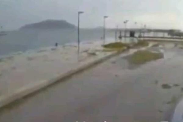 Σκόπελος: Κίνδυνος στο νησί από την χαλαζόπτωση!