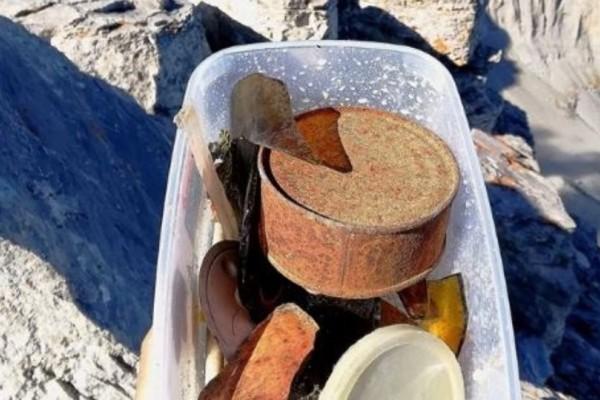 Τραγικό: Πετάνε σκουπίδια στην κορυφή του Ολύμπου!