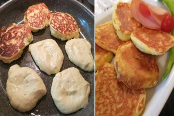 Αφράτες τηγανίτες γιαουρτιού, εύκολα, γρήγορα και μόνο με 4 υλικά