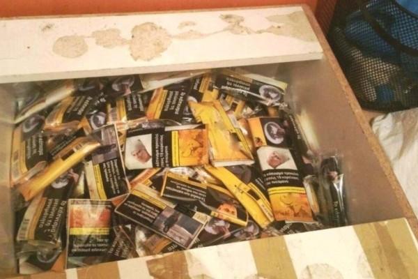 Συνελήφθη 46χρονος με 1.407 λαθραία πακέτα τσιγάρων!