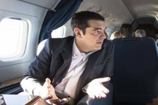 Πανικός σε αεροπλάνο! Γυναίκα επιτέθηκε στον Αλέξη Τσίπρα! (Video)