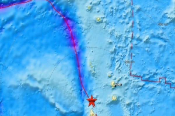 Σεισμός 5,1 Ρίχτερ στα νησιά Βανουάτου!