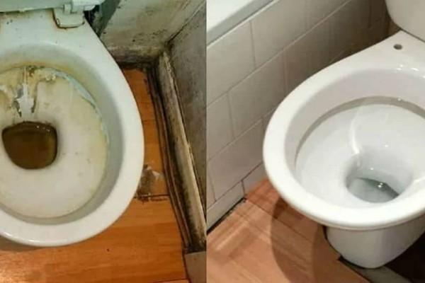 Απίστευτο κόλπο! Δείτε πως θα κάνετε την τουαλέτα σας να αστράφτει!