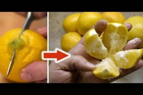 Πάρτε  λεμόνι και ρίξτε αλάτι… Αυτό το κόλπο θα αλλάξει τη ζωή σας για πάντα!