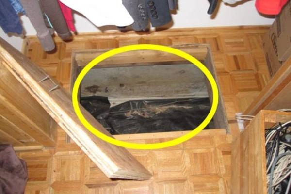 Βρήκαν ξαφνικά ένα κλειδωμένο κουτί κάτω από το πάτωμα του σπιτιού τους - Όταν το άνοιξαν δεν μπορούσαν να το πιστέψουν!