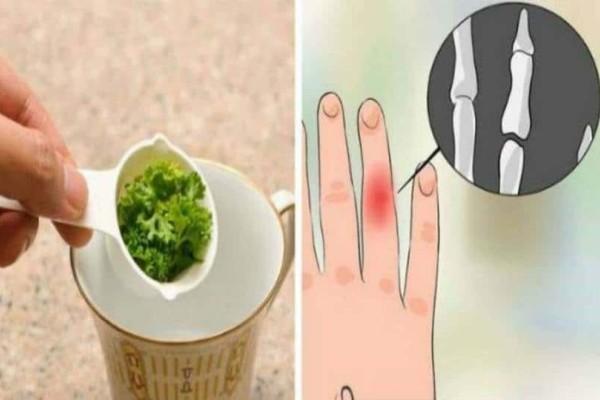 Μέσα σε ένα ποτήρι έριχνε μαϊντανό, τσάι, λεμόνι και μέλι  - Όταν δείτε το αποτέλεσμα θα εκπλαγείτε!
