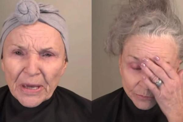 78χρονη γιαγιά μεταμορφώνεται μπροστά στην κάμερα. Δεν θα πιστεύετε στο αποτέλεσμα.