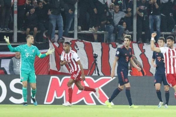 Champions League: Δύσκολη αποστολή του Ολυμπιακού κόντρα στην Μπάγερν!