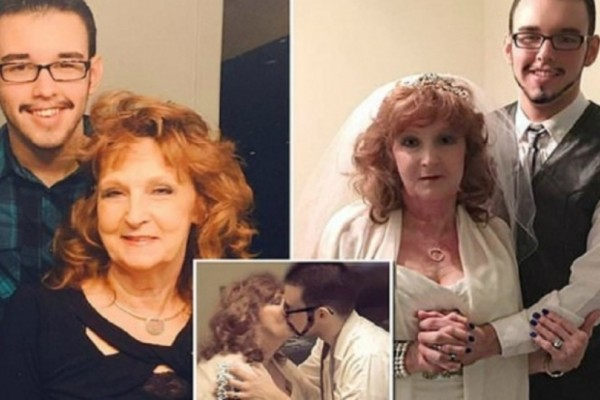 Ένας 19χρονος παντρεύτηκε 72χρονη μητέρα... που γνώρισε στην κηδεία του γιού της!