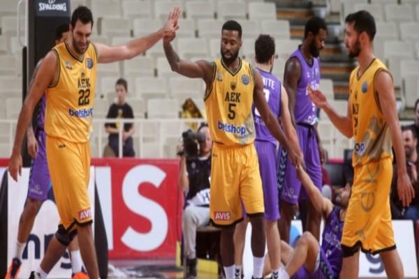 Basketball Champions League: Η ΑΕΚ επικράτησε με 74-66 της Μπούργκος! (Video)