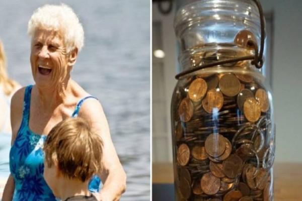 Κάθε φορά που πήγαινε στη γιαγιά της, ζητούσε ψιλά για να αγοράσει κάτι. Όταν πέθανε έπαθε σοκ με αυτό που βρήκε σπίτι