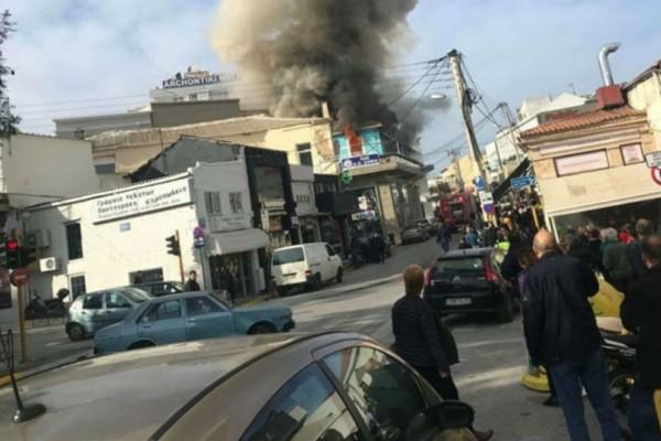 Χανιά: Πυρκαγιά σε γνωστό κατάστημα στο κέντρο της πόλης!