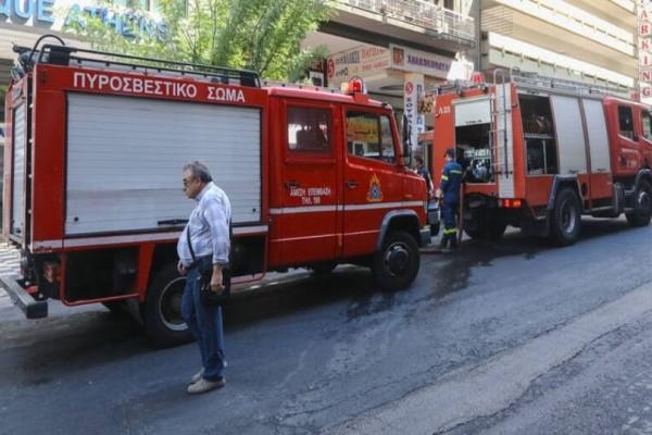 Συναγερμός στην Κυψέλη: Φωτιά σε κτήριο!
