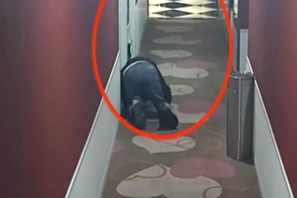 Άντρας παρακολουθούσε ζευγάρια σε προσωπικές στιγμές σε ξενοδοχεία! Τον κατέγραψε η κάμερα!
