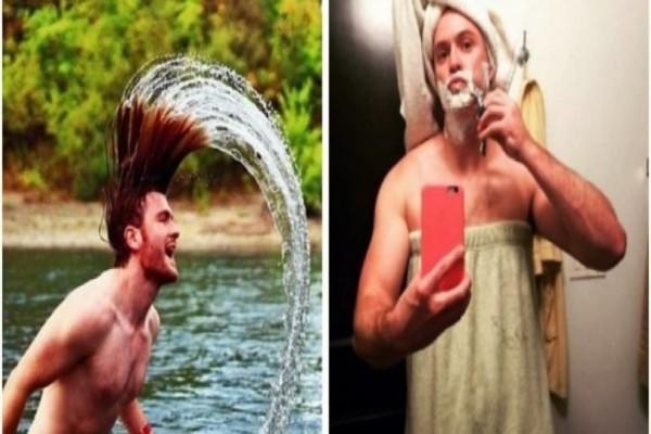 Επικό: Άντρας αντιγράφει τις φωτογραφίες που βάζουν οι γυναίκες στο Instagram και μοιράζει άφθονο γέλιο!