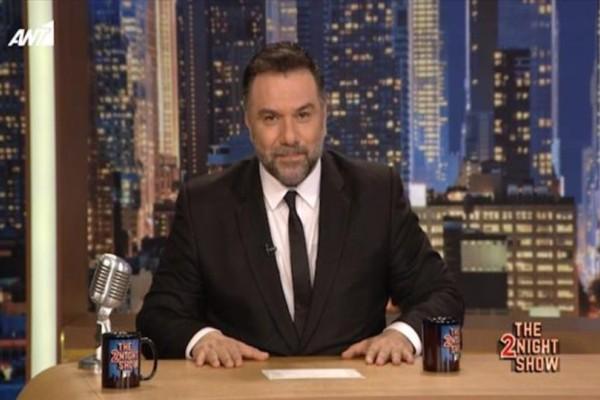 Εκπλήξεις και ανατροπές στην εκπομπή του Γρηγόρη Αρναούτογλου  «The 2Night Show»!