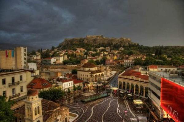 Η φωτογραφία της ημέρας: Καλημέρα από την βροχερή Αθήνα!