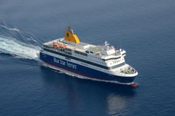Εισροή υδάτων σε πλοίο της Blue Star στη Νάξο! (Video)