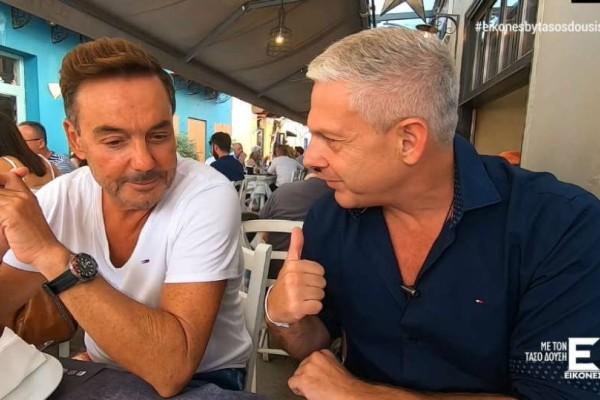 """Ο Τάσος Δούσης προτείνει το διαχρονικό γευστικό στέκι """"Κακαναράκης 1986"""" του Ναυπλίου για εκλεκτή μεσογειακή κουζίνα!"""
