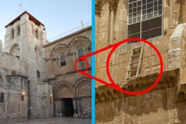 Εδώ και 300 χρόνια  η σκάλα βρίσκεται σε εκείνο το σημείο! Δείτε γιατί! (Video)