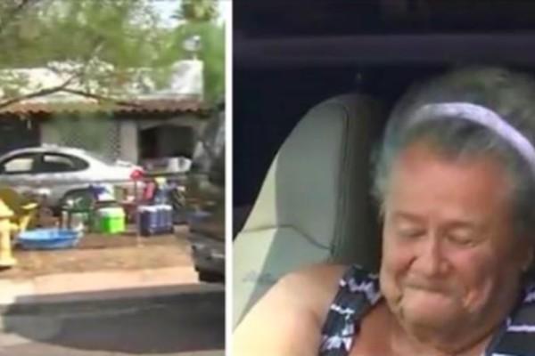 Αυτή η γιαγιά μένει μέσα στο αυτοκίνητό της, έξω από το σπίτι της. Όταν μάθετε γιατί δεν μένει μέσα θα παγώσετε!