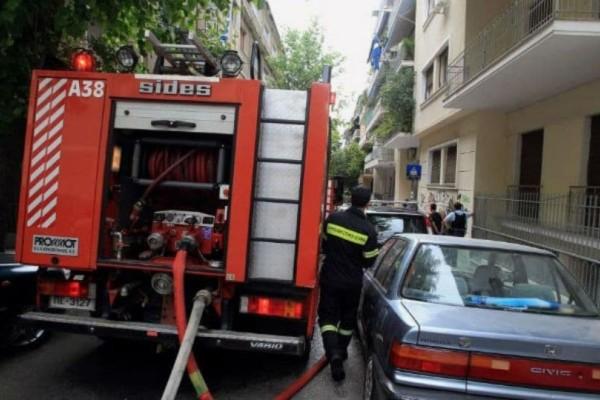 Συναγερμός στο Παγκράτι: Φωτιά σε πολυκατοικία!