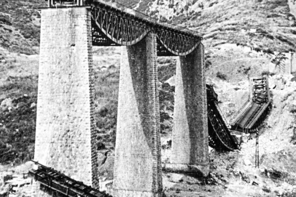 Σαν σήμερα 77χρόνια πριν έγινε η ανατίναξη της γέφυρας στον Γοργοπόταμο!
