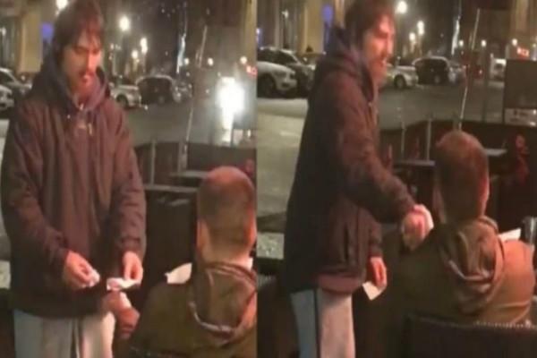 Έδωσε σε άστεγο την κάρτα του να σηκώσει όσα χρήματα θέλει - Δεν φαντάζεστε όμως τι έκανε εκείνος!