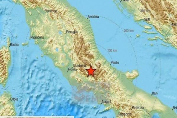 Σεισμός 4,4 Ρίχτερ στην Ιταλία!