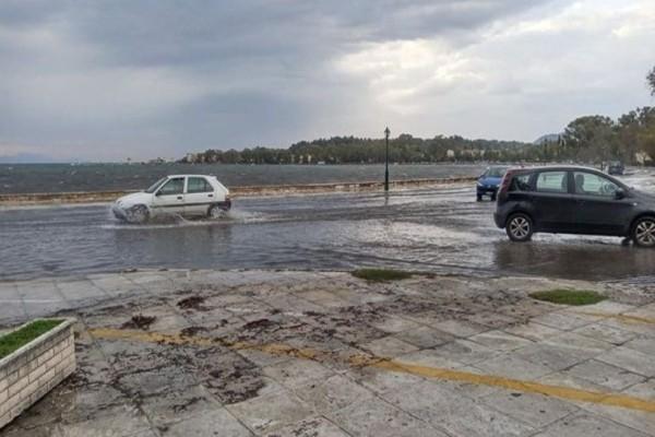 Κακοκαιρία στην Κέρκυρα: Μπλακ άουτ, πλημμύρες και άνεμοι 9 μποφόρ σαρώνουν το νησί! (Video)