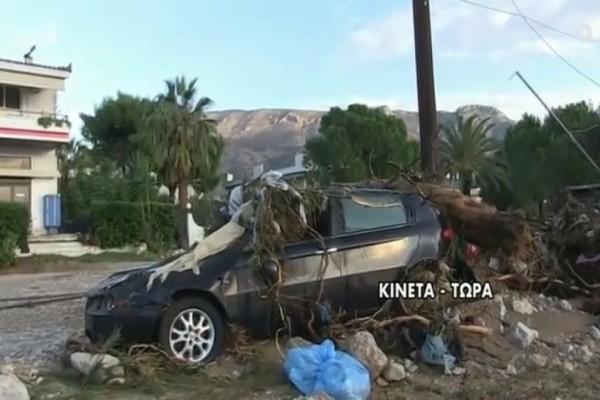 Εικόνες καταστροφής στην Κινέτα! Ανατριχιάζει κάτοικος:
