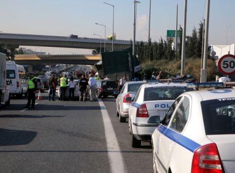 Χάος στον Κηφισό! Μποτιλιάρισμα σε κεντρικούς δρόμους της Αθήνας! (photo)