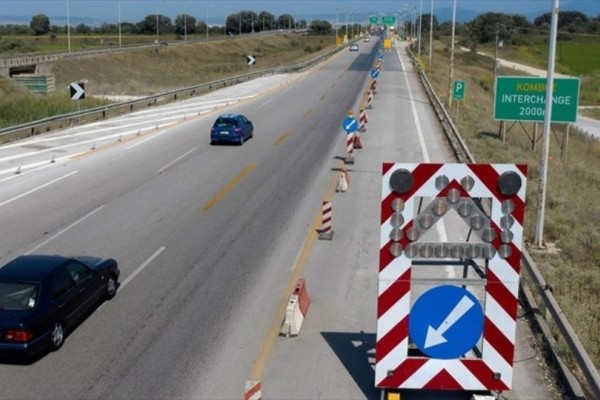 Προσοχή! Ολυμπία οδός: Κυκλοφοριακές ρυθμίσεις λόγω εργασιών!