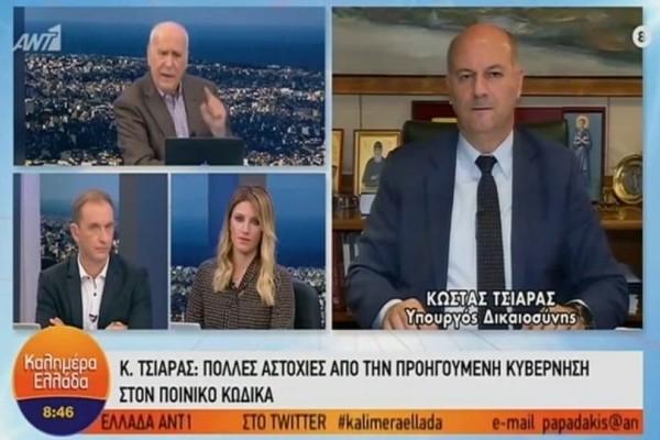 Κώστας Τσιάρας: Η εκτόξευση μολότοφ θα τιμωρείται με δέκα χρόνια φυλάκισης! (Video)