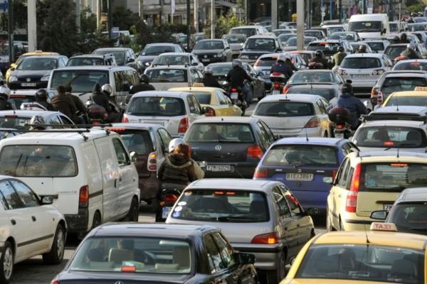 Χάος στο κέντρο της Αθήνας! Ποιους δρόμους να αποφύγετε; (photo)