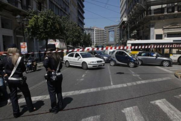 Χάος και μποτιλιάρισμα στο κέντρο της Αθήνας: Κλειστοί δρόμοι! (photo)