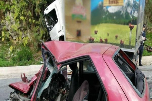 Φονικό τροχαίο στα Χανιά: Νεκρός ο οδηγός! (photos)
