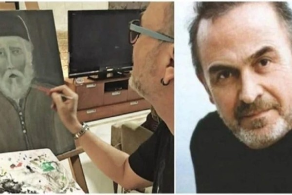 O Σταμάτης Γονίδης ζωγράφισε τον Άγιο Παΐσιο χωρίς να τον έχει δει ποτέ και μιλάει για θαύμα