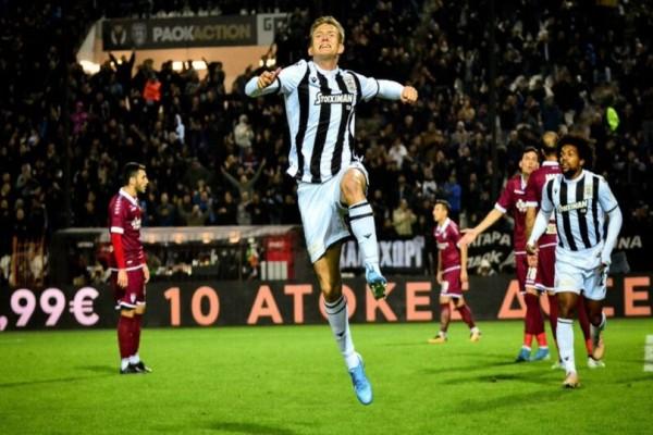 Super League: Απογείωση για τον ΠΑΟΚ! Επικράτησε με 1-0  απέναντι στην ΑΕΛ!